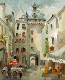Old french Town. 2001 SOLD