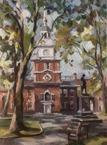 Independence Hall, Philadelphia. 2006 SOLD